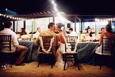 Beach Wedding reception at Iberostar Rose Hall Grand in Jamaica