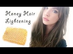 How I lighten my hair with honey, cinnamon and olive oil! - YouTube
