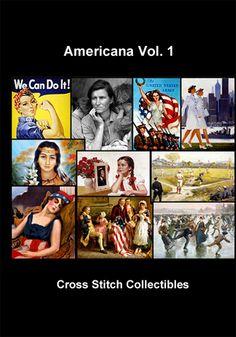 Americana Vol. 1 Cross Stitch DVD by Cross Stitch Collectibles