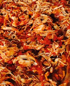 Mexican Pulled Chicken made in the AGA range. The perfect slow cook meal with amazing flavor! Learn more at aga-ranges.com #castironcooking