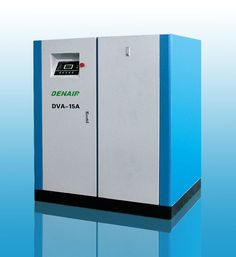 DENAIR Standard Type Variable Frequency Oil Injected Screw Air Compressor Technical Parameters Model: DVA-15 Working Pressure (MPa): 0.75 Air Delivery (m3/min): 0.60-2.7 Voltage and IP Grade: 380V IP54 Noise(DB): 70±3 Outlet Pipe Diameter (inch): G1'' Starting Method: Belt Dimension (mm) L: 1000, W: 900, H: 1150 Weight (kg): 500