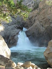 Roaring River Falls;  Kings Canyon National Park, CA