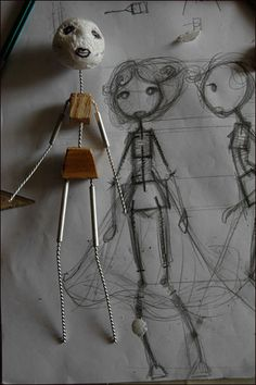 Stop Motion Puppets | ... for Building a Good Armature for a Stop Motion Puppet ~Carlos Lascano