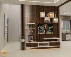 Lcd Unit Design, Tv Unit Interior Design, Lcd Panel Design, Tv Unit Furniture Design, Interior Ceiling Design, Living Room 3d Design, Living Room Partition Design, Room Partition Designs, Living Room Tv Unit Designs