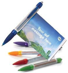 Pull out ad pen, banner pen, custom message and full advertisement printed on pen #promotionalgifts #marketing--------- I think this would be better than our plain pens