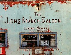 Fine Art Photo of the Long Branch Saloon in Luning, Nevada along Roadside America