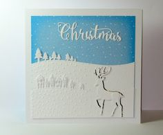 Create stunning scenes with the Scenic Borders die and the new At Christmas Time and Seasonal Sentiment dies | Sara Davies Blog