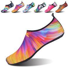 ec2395217 Women s Men s Kid Summer Water Shoes Barefoot Shoe Quick Dry Aqua Socks  Yoga - Colorful Orange - CK189WRX0HS