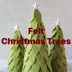 Felt Christmas, Winter Christmas, Holiday, Silhouette Design, Silhouette Studio, 3d Star, Leaf Drawing, 3d Craft, Star Garland