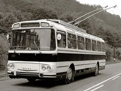 Škoda 11Tr '1964–67 New Bus, Transport Museum, Volkswagen Group, Bus Coach, Bus Ride, Busses, Old Trucks, Concept Cars, Cars And Motorcycles
