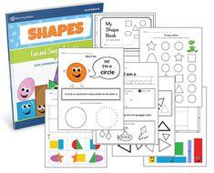 Learning Basic Shapes Workbook