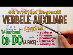 Sa invatam engleza - VERBUL TO DO (Verbele auxiliare part 4) - Let's Lea...