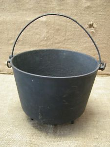 cast iron bucket great for making stuff