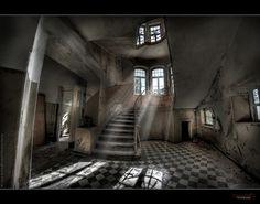 UE Lake Side Sanatorium (Germany) (Explore'd) by rustysphotography, via Flickr