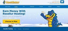 HostGator web hosting reseller program