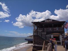 Cheeseburger in Paradise, yes like the song (actually named for it). Lahaina Maui, Hawaii