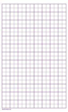 Printable 2 Squares Per Inch Purple Graph Paper for Legal Paper Graph Paper, Printable Paper, Squares, Fantasy Art, Printables, Kpop, Purple, Fantastic Art, Print Templates