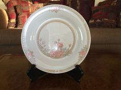 Crown Ming Jain Shiang Dinner Plate Christina Pattern 1392 Set of 8 by AlbertsonMiller on Etsy