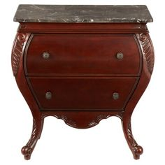 Find it at bombaycompany.com  - Harrington Side Chest- Antique Mahogany