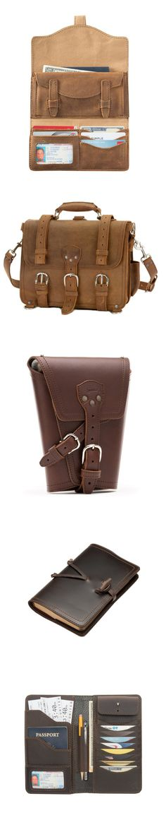 Saddleback Leather Co. strongest and best designed leather goods. All made in North America. Saddleback Leather, Edc Everyday Carry, The New Wave, Fun Stuff, North America, Naked, Wallet, Electronics, Bags