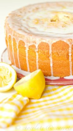 ~ Lemon Pound Cake