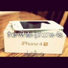 The white iphone 4s