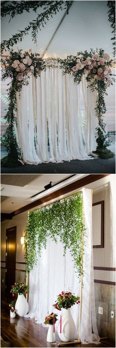 48 ideas for wedding ceremony backdrop diy arbors Wedding Ceremony Ideas, Diy Backdrop, Wedding Ceremony Backdrop, Wedding Stage, Chic Wedding, Free Wedding, Reception, Prom Backdrops, Diy Arbour