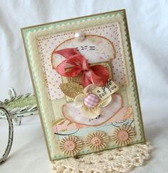A Gift For You Handmade card by iralamijashop on Etsy, $7.50