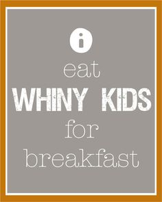 My kids would get a kick out of this printable. [i think this totally belongs in the dining room, no? or next to the breakfast bar?]