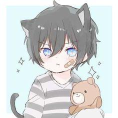 Kid Character, Cute Anime Character, Cute Characters, Anime Characters, Neko Boy, Chibi Boy, Cute Chibi, Cute Anime Boy, Anime Guys