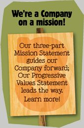 Ben & Jerry's Mission Statement is a great example of a brand expressing their values. Not many brands would openly support the Occupy Movement  for example.