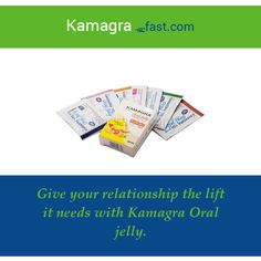 Give your relationship the lift it needs with Kamagra Oral jelly.
