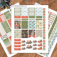 Camping Planner Stickers PrintableWeekly KitStickers for