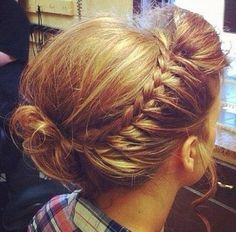 Poof Braid Hairstyle