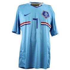 Holland football shirt Robin van Persie XL (away - with tags) Robin Van, Van Persie, Vintage Football Shirts, Holland, Soccer, Tags, Sports, Fashion, The Nederlands