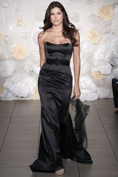Lazaro Black Lz3979 Dress | Tradesy Weddings. I think this is my favorite bridesmaid dress so far!