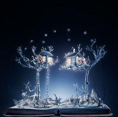 Snow Queen With Wires - Arte com Livros - Criado por Su Blackwell