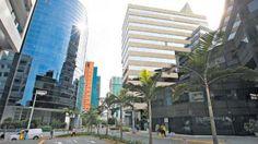 El centro financiero de Lima se encuentra en San Isidro. July 25, 2016.