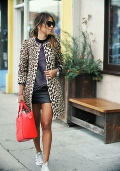 Leather skirt. How to wear?!