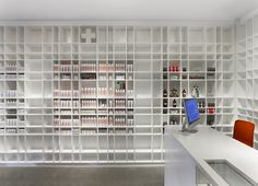 (Malin+Goetz) apothecary by Bernheimer Architecture, Los Angeles store design