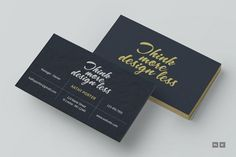 The barber business cards templates card templates business cards think more design less business card wajeb Images