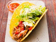 Découvrez la recette des tacos à la viande hachée