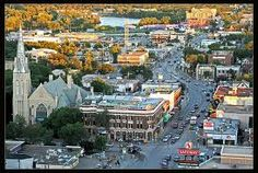 Osborne village, Winnipeg..it is packed with interesting shops filled with artisan's creativity, good food, fun and entertainment.