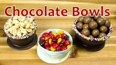 How to Make Chocolate Bowls by Cookies Cupcakes and Cardio