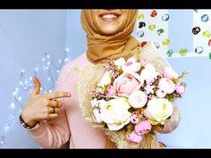 Gelin Çiçeği Yapımı | Yaka Çiçeği Yapımı | Çiçekli Taç Yapımı | DIY | Kendin Yap - YouTube