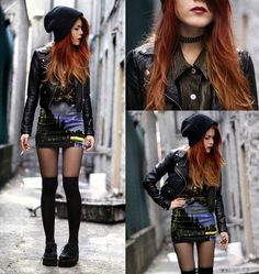 Punk Fashion | Lua P. from http://www.fashionsalade.com/le-happy/