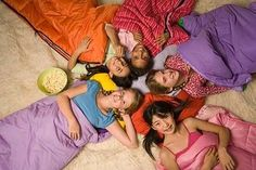 Slumber Party Ideas for 10 Year Olds