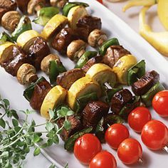 Beef Kebabs | MyRecipes.com