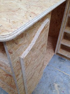Meuble Brunch DDL on Behance meuble OSB restaurant design DDL wwodwork product design furniture design emerald emeraude