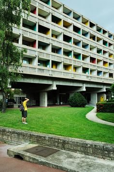 Maison du Brésil/ Student Housing. Paris, France. 1958. Lucio Costa, Brazilian architect & Le Corbusier.